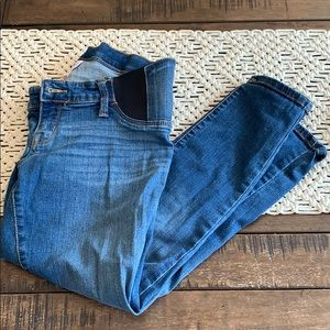Isabel Maternity skinny crop jeans size 4 EUC